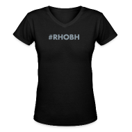 T-Shirts ~ Women's V-Neck T-Shirt ~ #RHOBH