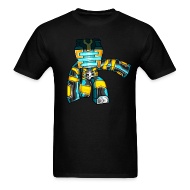 T-Shirts ~ Men's T-Shirt ~ GoldSolace Ghost Avatar Shirt!