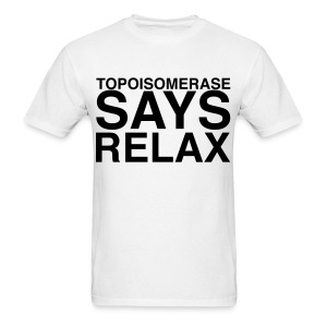 Topoisomerase says Relax - Men's T-Shirt