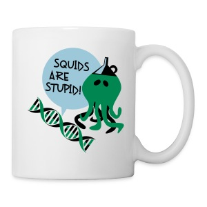 Squids Liquid stimulant bin - Coffee/Tea Mug