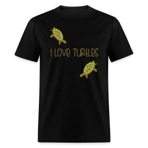I Love Turtles - Men's T-Shirt