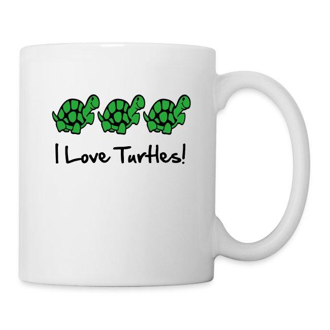 3 Turtles Mug