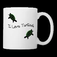 Mugs & Drinkware ~ Coffee/Tea Mug ~ I Love Turtles Mug