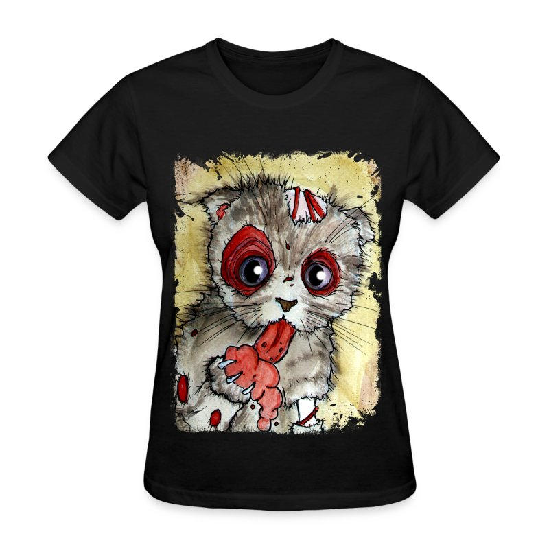 womens zombie lol cat - Women's T-Shirt