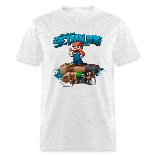 SethBling's Pile of Bodies - Men's T-Shirt