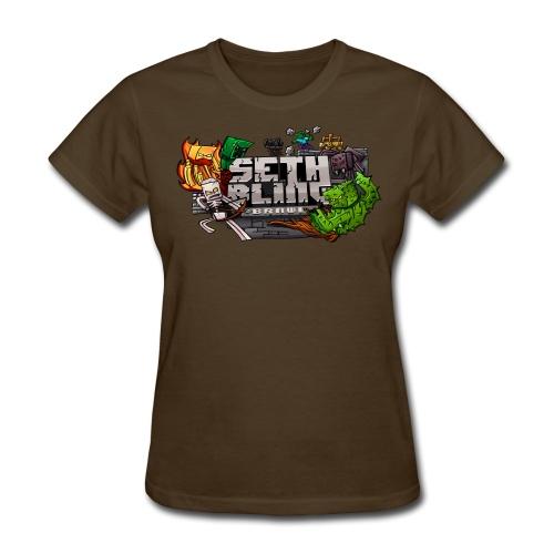 SethBling Brawl (Women) - Women's T-Shirt