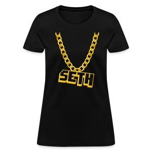 Seth's Bling (Women) - Women's T-Shirt