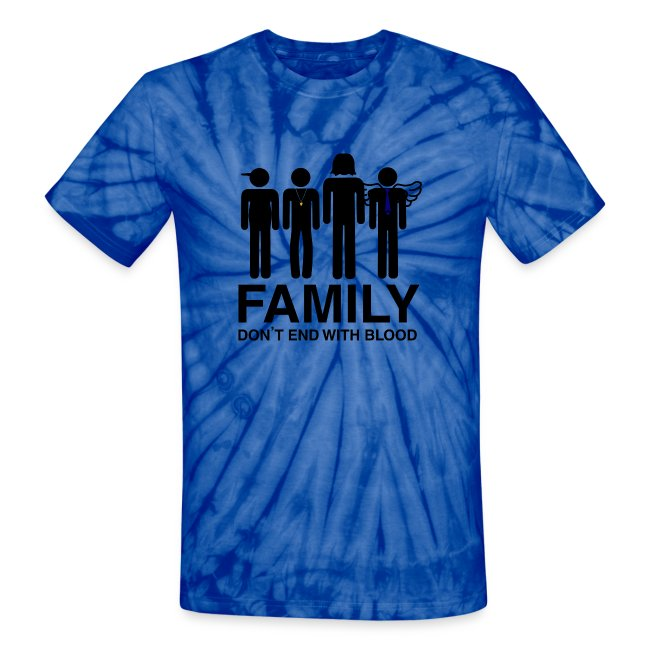 Non Timebo Mala Supernatural Family Dont End With Blood Unisex
