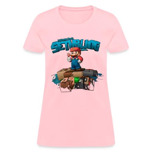 SethBling's Pile of Bodies (Women) - Women's T-Shirt
