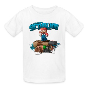 SethBling's Pile of Bodies (Youth) - Kids' T-Shirt
