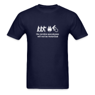 T-Shirts ~ Men's T-Shirt ~ M's - Family Xtracycle Zombie