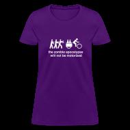 Women's T-Shirts ~ Women's T-Shirt ~ Ws - Family Xtracycle Zombie