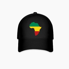 Green, Gold (Yellow) & Red Africa Caps