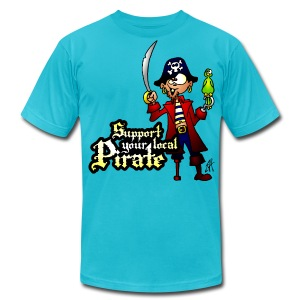 Pirate - Men's T-Shirt by American Apparel