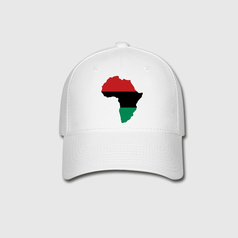 Red, Black & Green Africa Flag Caps - Baseball Cap