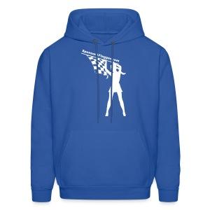 SAF Men's Hoodie w/White Logo - Men's Hoodie