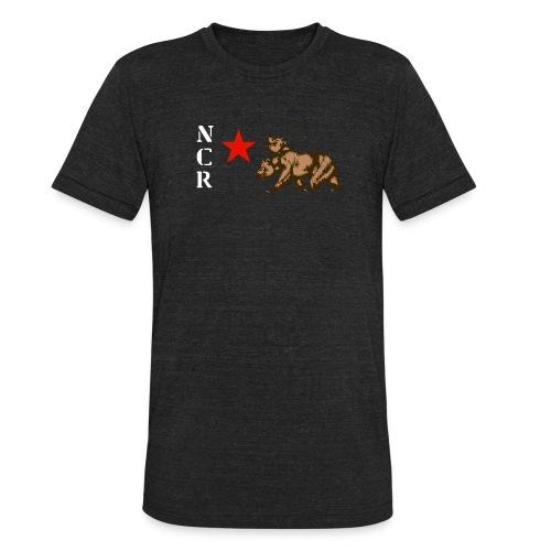 NCR Armor Emblem Shirt (Tri-Blend Vintage) - Unisex Tri-Blend T-Shirt