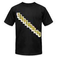 T-Shirts ~ Men's T-Shirt by American Apparel ~ The Pensblog Diagonal