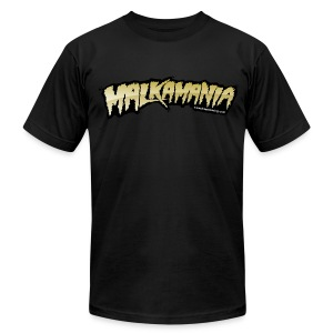 Malkamania - Men's T-Shirt by American Apparel