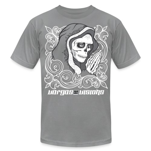 Catrina Series - Pray - Men's Fine Jersey T-Shirt