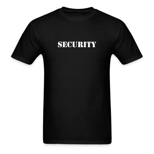 SECURITY Logo Shirt - Men's T-Shirt