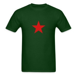 Military Shirts Red China Star T-Shirt - Men's T-Shirt