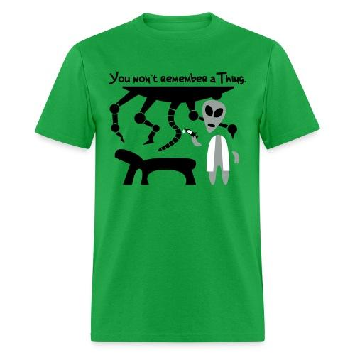 Alien Scientist (male, standard) - Men's T-Shirt
