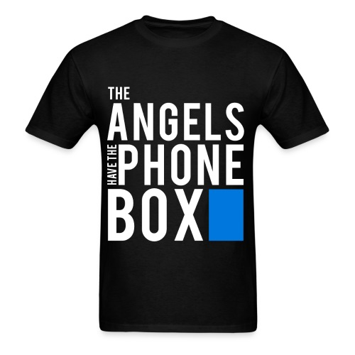 The Angels Have The Phone Box - Doctor Who T-Shirt - Men's T-Shirt