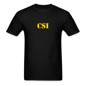 Police T-Shirts CSI Logo Tee - Men's T-Shirt