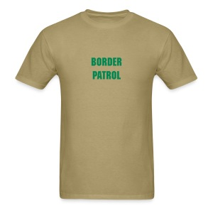 Police Shirts Border Patrol T-Shirt - Men's T-Shirt