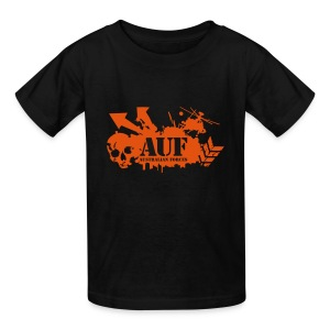 AUF Logo - Kids T-Shirt - URL Text Box - Kids' T-Shirt
