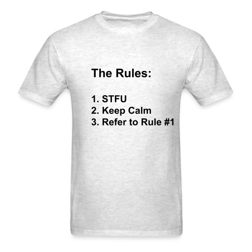 Rules - Men's T-Shirt