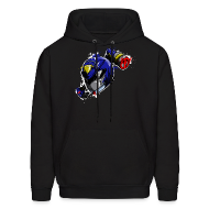 Hoodies ~ Men's Hoodie ~ RB Hoodie - Design D - Men