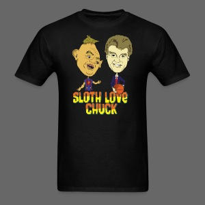 Sloth Love Chuck - Men's T-Shirt