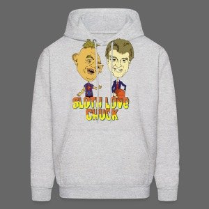 Sloth Love Chuck - Men's Hoodie