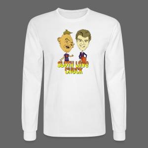 Sloth Love Chuck - Men's Long Sleeve T-Shirt