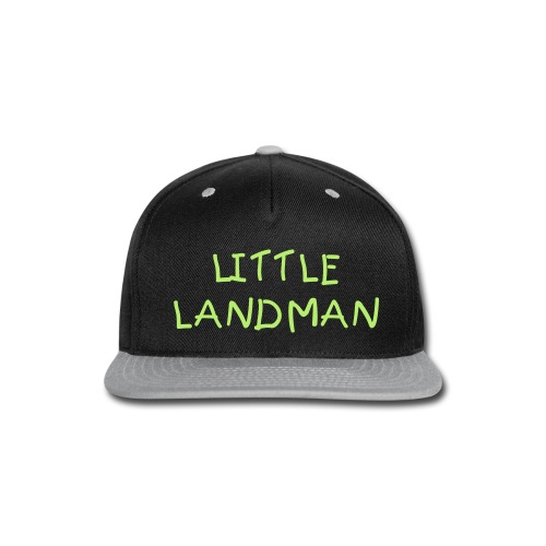 Team Little Landman flat bill hat - Snap-back Baseball Cap