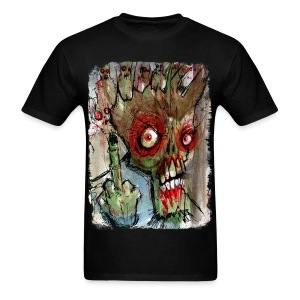 mens zombie finger - Men's T-Shirt