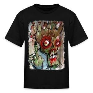 kids zombie finger - Kids' T-Shirt