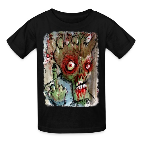 kids zombie finger - Kids' T-Shirt