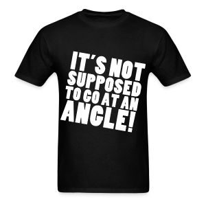 AT AN ANGLE (Guys) - Men's T-Shirt