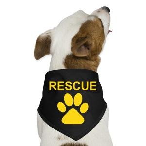 Doggy Bandana -RESCUE - Dog Bandana