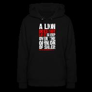 Hoodies ~ Women's Hoodie ~ A lion does not lose sleep | Womens hoodie