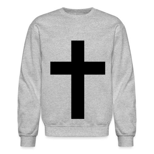 Crewneck Sweatshirt - cross crew neck sweater fashion religious
