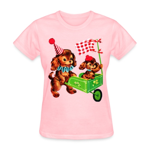 Pink Puppy - Women's T-Shirt