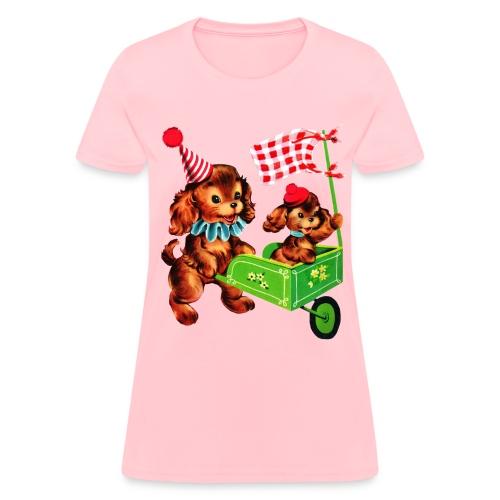 Pink Puppy - Women's T-Shirt