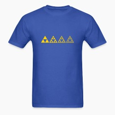 Sierpinski triangles - fractal T-Shirts