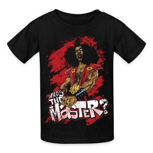 Who's The Master? - Kids' T-Shirt