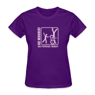 Women's T-Shirts ~ Women's T-Shirt ~ Just Physical Therapy. No Wonder!
