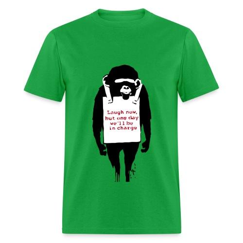 Banksy Chimp - Men's T-Shirt